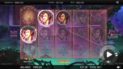 Ever After review on Big Bonus Slots