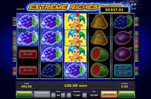 Extreme Riches review on Big Bonus Slots