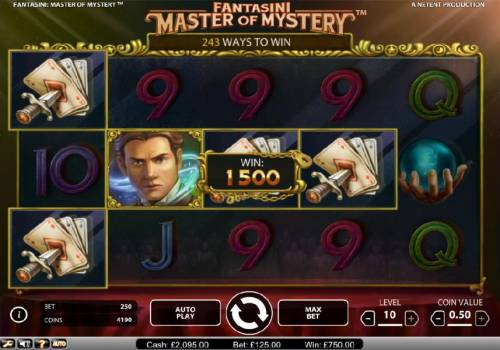 Fantasini Master of Mystery review on Big Bonus Slots