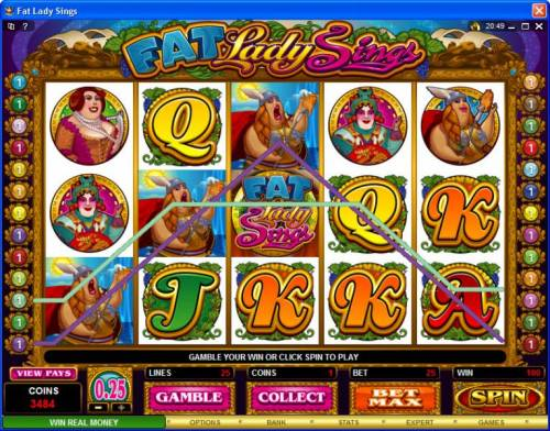 Fat Lady Sings review on Big Bonus Slots