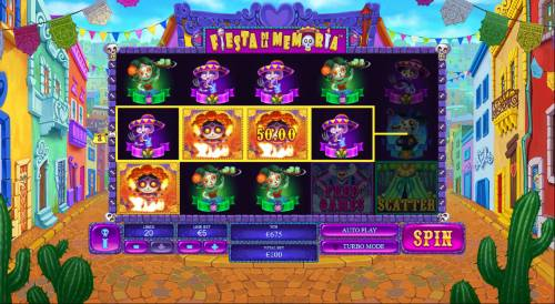 Fiesta De La Memoria review on Big Bonus Slots