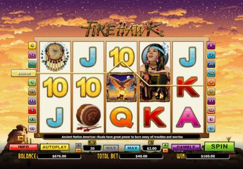 Fire Hawk review on Big Bonus Slots