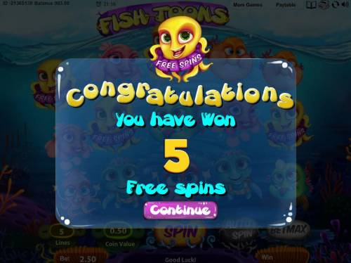 Fish Toons review on Big Bonus Slots