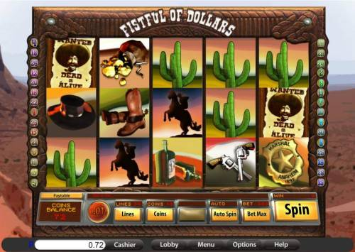 Fistful of Dollars review on Big Bonus Slots