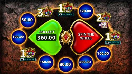 Flame of Fortune Big Bonus Slots Flame of Fortune - Spin the reel for a chance to earn extras or a cash award or collect your existing winnings.