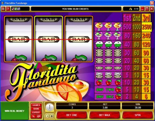 Floridita Fandango review on Big Bonus Slots