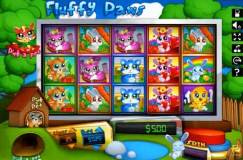 Fluffy Paws review on Big Bonus Slots