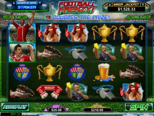Football Frenzy! review on Big Bonus Slots