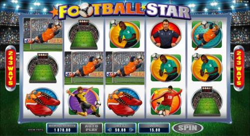 Football Star review on Big Bonus Slots