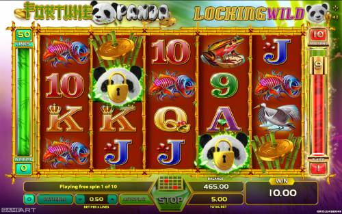 Fortune Panda Big Bonus Slots 10 Free Games Awarded