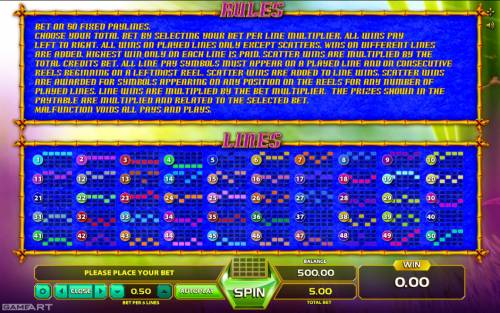 Fortune Panda Big Bonus Slots General Game Rules