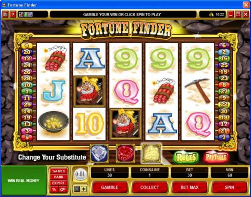 Fortune Finder review on Big Bonus Slots