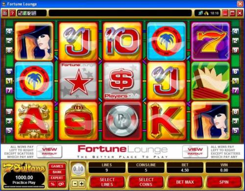 Fortune Lounge review on Big Bonus Slots