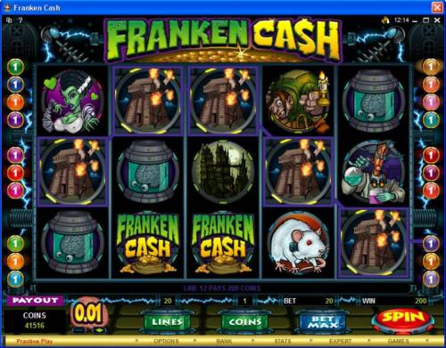 Franken Cash review on Big Bonus Slots