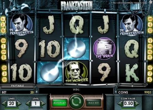 Frankenstein review on Big Bonus Slots