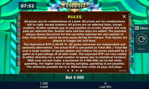 Freibier review on Big Bonus Slots