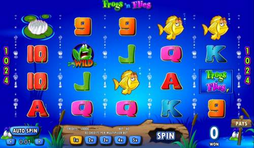 Frogs 'n Flies review on Big Bonus Slots