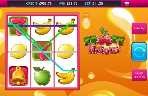 Frooty Licious Big Bonus Slots Multiple winning paylines