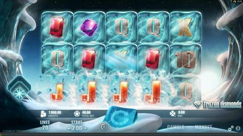Frozen Diamonds Big Bonus Slots A winning combination of four JACKS are making room for new symbols to ddrop from above.