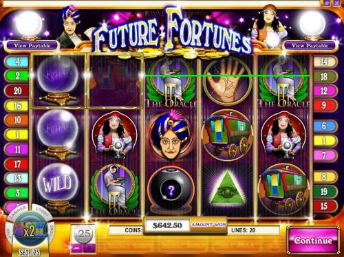 Future Fortunes review on Big Bonus Slots