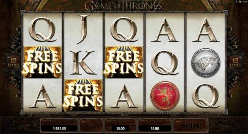 Game of Thrones - 15 Lines review on Big Bonus Slots