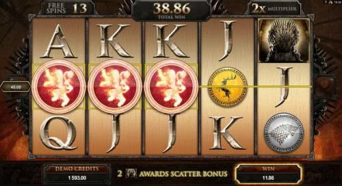 Game of Thrones - 15 Lines review on Big Bonus Slots