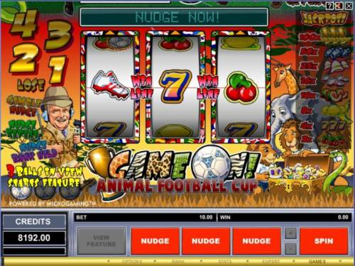 Game On! review on Big Bonus Slots