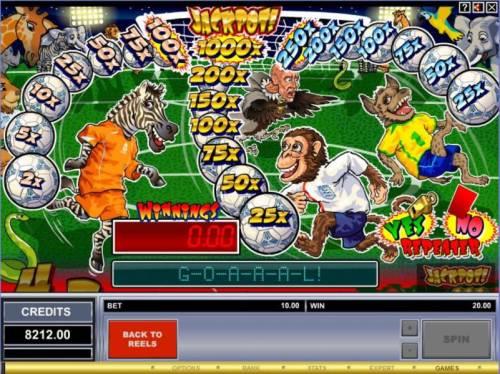 Game On! review on Big Bonus Slots