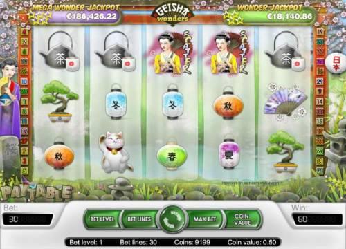 Geisha Wonders review on Big Bonus Slots