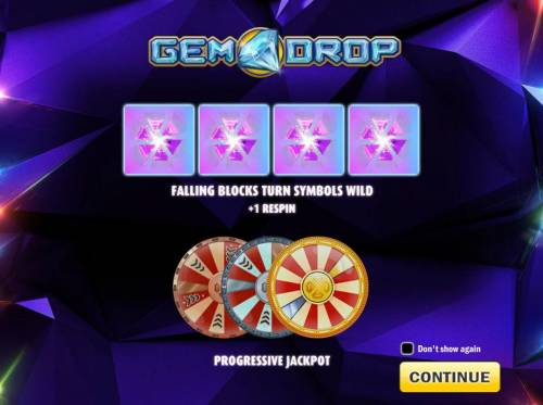 Gem Drop Big Bonus Slots Introduction