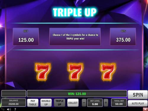Gem Drop Big Bonus Slots Triple Up Gamble Feature Rules