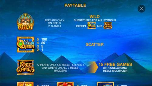Gem Queen review on Big Bonus Slots