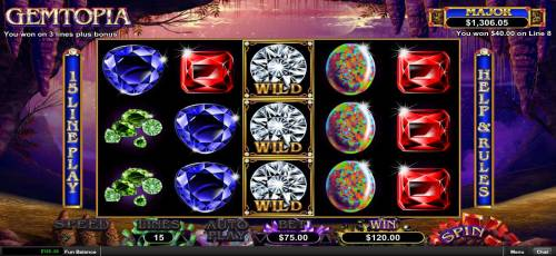Gemtopia review on Big Bonus Slots