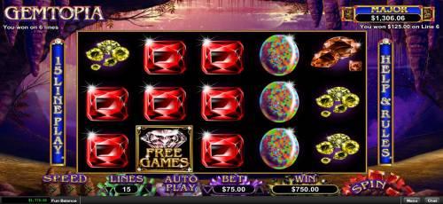 Gemtopia review on Big Bonus Slots