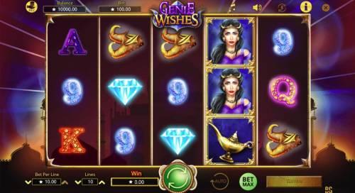 Genie Wishes review on Big Bonus Slots