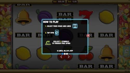 Get Fruity Big Bonus Slots Scatter Symbol Rules