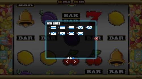 Get Fruity Big Bonus Slots Paylines 1-9