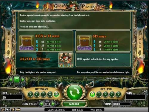 Ghost Pirates review on Big Bonus Slots