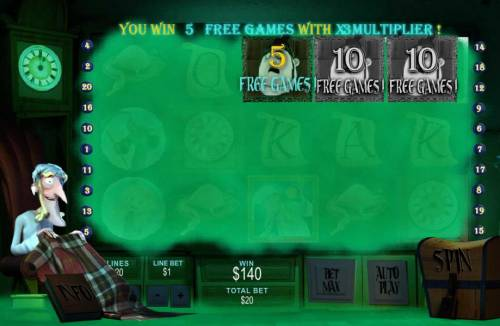 Ghosts of Christmas review on Big Bonus Slots