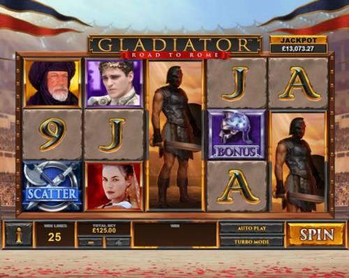 Gladiator Road to Rome review on Big Bonus Slots