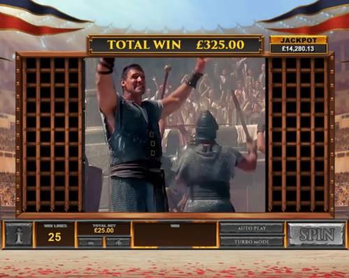 Gladiator Road to Rome Big Bonus Slots If gladiators win, you win the bonus prize