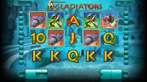 Gladiators review on Big Bonus Slots