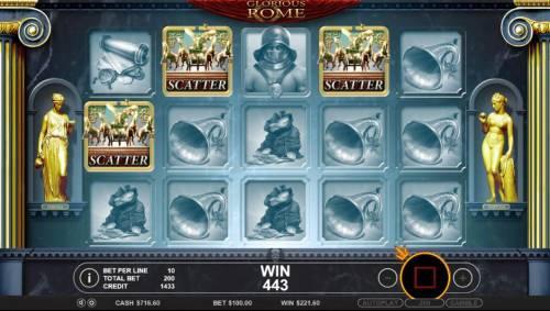 Glorious Rome review on Big Bonus Slots