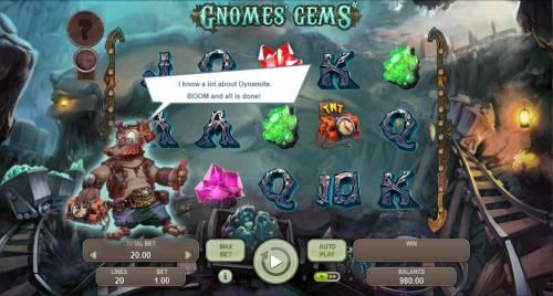 Gnomes Gems review on Big Bonus Slots