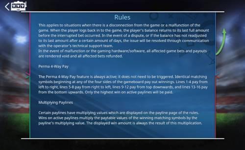 Goal Big Bonus Slots Perma 4-Way Rules
