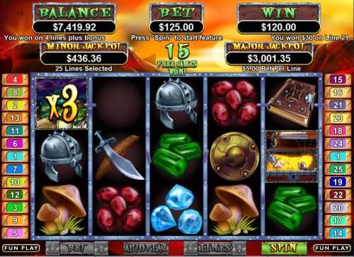 Goblin's Treasure Big Bonus Slots Bonus Hit