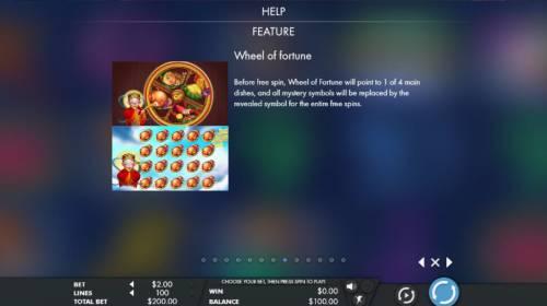 God of Cookery review on Big Bonus Slots