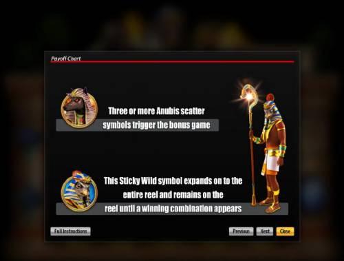 Gods of Egypt review on Big Bonus Slots
