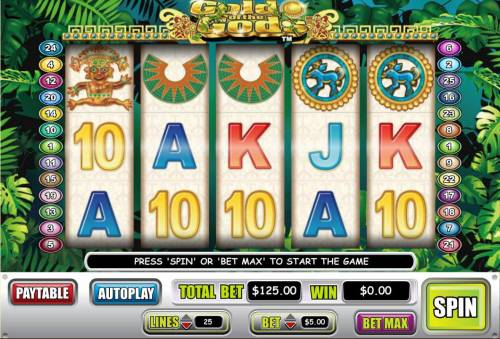 Gold of the God's review on Big Bonus Slots