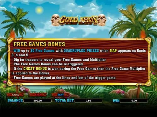 Gold Ahoy Big Bonus Slots free games bonus rules